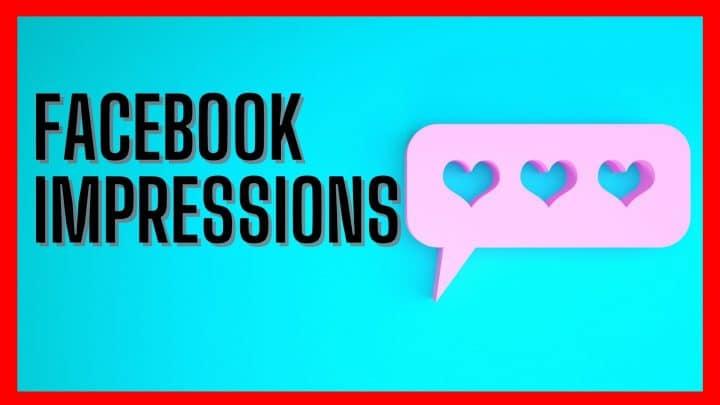 Facebook impressions